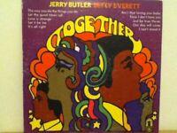 BETTY  EVERETT  &  JERRY  BUTLER         LP       TOGETHER