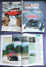 GENTE MOTORI AUTO IN FUORISTRADA 1990,alpentrac,unimog,talon,king cab,vectra #f