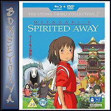 SPIRITED AWAY - THE STUDIO GHIBLI COLLECTION **NEW BLU-RAY + DVD**