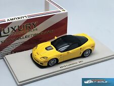 Chevrolet Corvette ZR1 yellow 2010 LUXURY COLLECTIBLES 101263 resin 1:43
