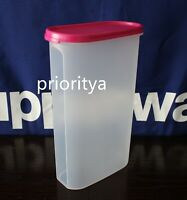 Tupperware Modular Mates Oval Container #5 with Flat Seal in Pink New