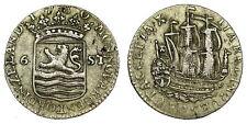 Netherlands- Zeeland - Scheepjesschelling 1780