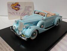 """GLM 43107401 # Packard 1407 Twelve Cabriolet Baujahr 1936 in """" hellblau """" 1:43"""
