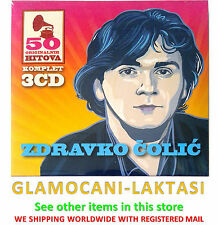 3CD ZDRAVKO COLIC 50 ORIGINALNIH PESAMA digipak gold audio video colic srbija yu