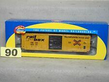 ATHEARN HO SCALE #92916 RAILBOX 50' PS BOX CAR NEW O.B. READY TO RUN