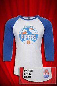 Pittsburgh Pipers ABA Vintage 1970 Defunct Basketball T-SHIRT FREE SHIP USA