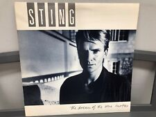 "Sting-Dream Of The Blue Turtles 12"" LP A&M SP-3750 Rock 1985 w/Insert Near Mint"