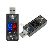 5V USB Digital Dual LED Current Voltage Meter Voltmeter Power Detector Ammeter