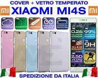 Housse Couverture Silicone + Verre Trempé Xiaomi Mi4s Mi 4s Funda Coque Doux Tpu
