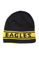University of Southern Mississippi Adult  Black/Gold Reversible Beanie, One Size