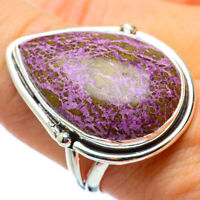 Large Stichtite 925 Sterling Silver Ring Size 9.25 Ana Co Jewelry R33324F