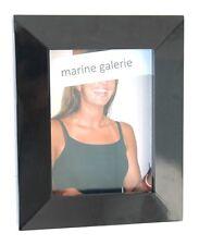 Cadre photo noir 15x20 large à poser effet relief laqué Neuf classe ! décoration