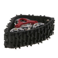 1:10 Metal Track Snow Tire Wheel for Axial SCX10 RC Crawlers Model DIY Parts