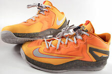 NIKE air Max LEBRON XI Low Shoes-13-New -$170 LJ James basketball- + Lace locks-