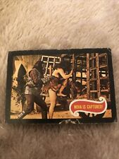 A&Bc Trading Card Planet Of The Apes #11 Nova Is Captured