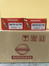 6pc New OEM  Genuine NGK Honda Iridium Spark Plugs 9807B-5517W IZFR5K11 J35A6