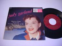 w PICTURE SLEEVE Judy Garland Born in a Trunk 1958 45rpm EP