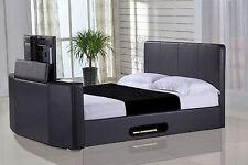 5FT Kingsize Bed Frames Divan Bases with Builtin TVStand eBay
