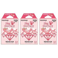3 Packs 30 Photos Pink Panther FujiFilm Fuji Instax Mini Film Polaroid SP-1 SP-2