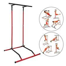 Home Fitness Equipment Dip Station Chin Up Bar Core Power Tower Pull Push Gym