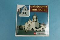 VINTAGE VIEW-MASTER 3D REEL PACKET A183 CALIFORNIA MISSIONS SEALED