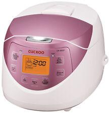 Electric Rice Cooker Korean Sushi Heating Pressure Cooker Pot Digital 110V Pink