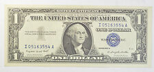 1957 $1 UNCIRCULATED DOLLAR BILL SILVER CERTIFICATE CURRENCY BLUE SEAL
