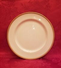 """Lenox for Tiffany & Co.Gold Embossed Rim 8 1/2"""" Salad Plate. Perfect Condition."""