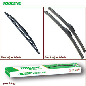 Front and rear Windshield Wiper blade for Chevrolet Captiva 2006-2016 OEMquality