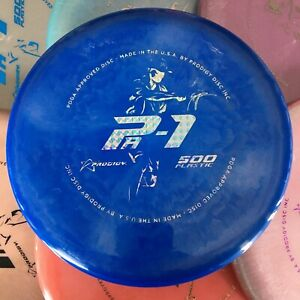 PRODIGY Seppo Paju 500 Spectrum Plastic PA1 Disc Golf Putter Pick Your Disc!