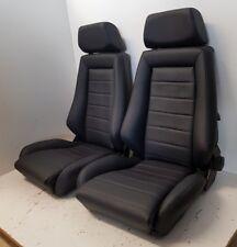 Recaro sedili in vera pelle per Opel-VW MAGGIOLINO-t2-t3 e oldteimer COPPIA NUOVO rispetto