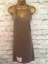 Lounge Lover Ladies Cacao Soft Fine Knit Dress Size M UK 10