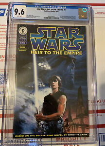 Star Wars: Heir To The Empire #1 1st Print CGC 9.6 1st App Mara Jade and Thrawn