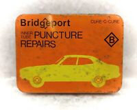 Vintage Tin-Bridgeport- Inner Tube Puncture Repair-Cycling/Bicycle/Automobilia