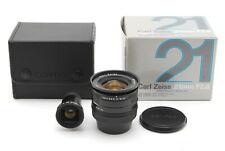 【UNUSED!! BLACK】Contax G ZEISS Biogon T 21mm f2.8 AF Lens w/Finder Limited Black