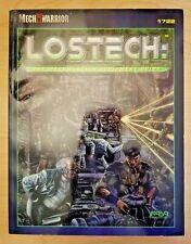 Lostech: Mechwarrior Equipment Guide (Mechwarrior / Battletech, FASA)