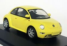 Schuco 1/43 Scale - 04532 Volkswagen VW New Beetle Yellow diecast Model car