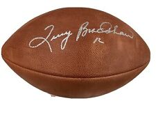 Terry Bradshaw Signed Football Official Wilson Pittsburgh Steelers Autograph JSA