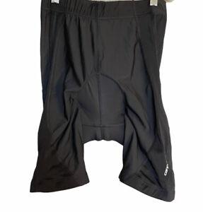 Cannondale Compression Padded Black Cycling Shorts Mens Sz M EZ Flex
