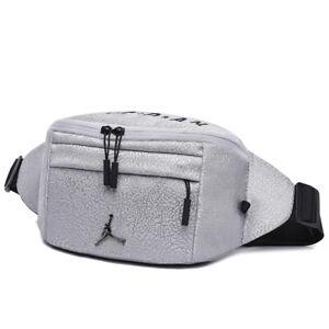 Nike Men's Casual Bum Bag - Black / Grey