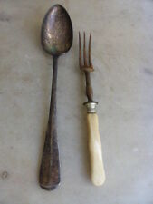 Unbranded 1850-1899 Antique Silver