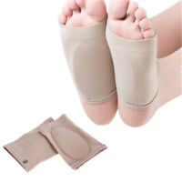 GEL ARCH Support Plantar Fasciitis Sleeve Cushion Foot Pain Heel Insole-Ortic