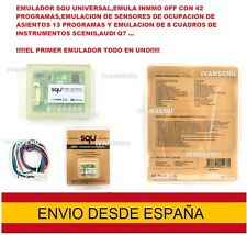 Universal Car Emulator SQU OF68 Sensor ocupacion asiento dashboard immo off