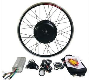 Electric Bike Conversion Kit Rear Motor Wheel 26''/700C with Tyre