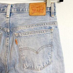 Levi's Vintage Orange Tab 517 High Rise Jeans 28