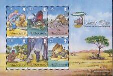 Verenigd Koninkrijk - Alderney Blok 20 (compleet.Kwestie.) postfris MNH 2007 Kip