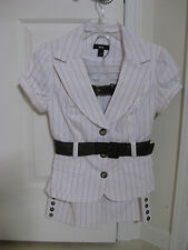 2 Piece Suit, Outfit or Business Size 5/Knee Length Shorts & Suit Jacket Top NWT