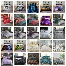 Microfiber Soft Duvet Cover Set Twin Queen King Size Pillowshams Bedding Set Us
