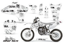 Dirt Bike Graphics Kit Decal Wrap For Yamaha WR250 WR450F 2005-2006 SSSH WHT BLK