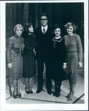 1982 Televangelist Oral Roberts With The Lennon Sisters Press Photo